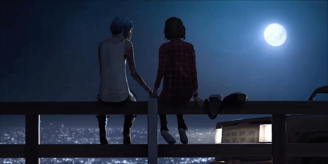 couple, gaming, lifeisstrange, chegapraca GIFs