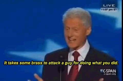 Watch Bill Clinton GIF on Gfycat. Discover more related GIFs on Gfycat