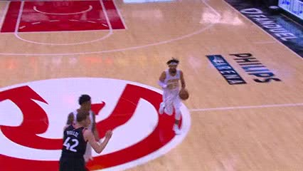Watch DeAndre' Bembry — Atlanta Hawks GIF by Off-Hand (@off-hand) on Gfycat. Discover more 112517 GIFs on Gfycat