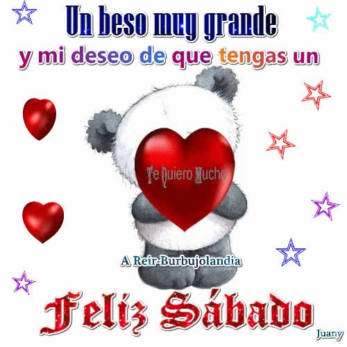 Watch and share Un Beso Muy Grande Y Mi Deseo De Que Tengas GIFs on Gfycat
