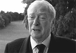 Watch and share Michael Caine GIFs on Gfycat