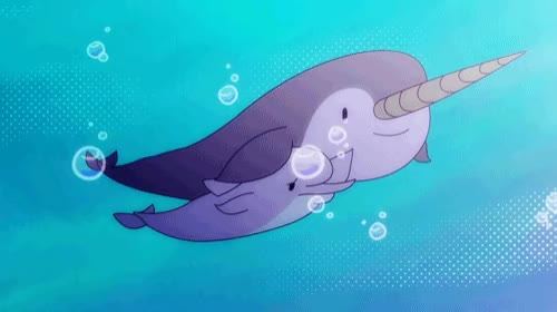 Watch That Feel When ..... you find your friend in a sea of people. Watch Fin Punch on Cartoon Hangover! GIF by Cartoon Hangover (@cartoonhangover) on Gfycat. Discover more Frederatorblog, animation, cartoonhangover, cartoons, dolphin, gif, narwhal GIFs on Gfycat