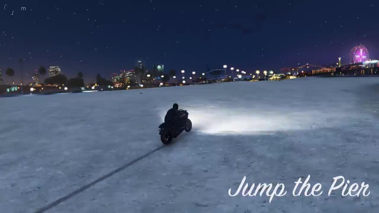 #gtaa, GTAA, GTAV, STUNTS, gtav, stunts, Jump the Pier GIFs