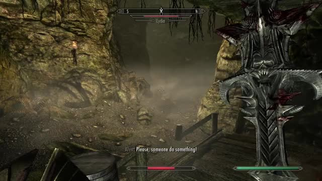 Watch and share Vampire GIFs and Skyrim GIFs by Breakfast_Baron on Gfycat