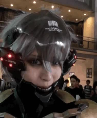 Watch and share Real-cosplay-gif-Raiden-(МGS)-Raiden-(MGS)-2571750 GIFs by giho13 on Gfycat