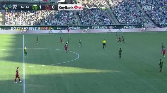 Watch and share Chara Goal Portland V Rsl 21oct2018 GIFs by C.I. DeMann on Gfycat