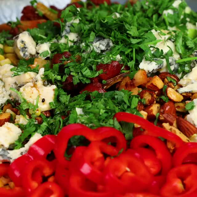 Watch Blue Cheese Salad GIF by MobKitchenUK (@kickso) on Gfycat. Discover more cheap, easy, fresh, healthy, recipe, tasty GIFs on Gfycat