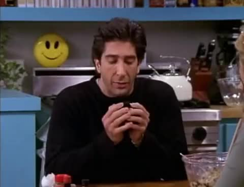 Watch this friends GIF on Gfycat. Discover more David, Geller, Monica, Schwimmer, aniston, broken, chandler, eightball, friends, jennifer, magic, rachel, ross, ross geller GIFs on Gfycat