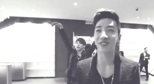Watch this GIF on Gfycat. Discover more asian, asian boys, b.a.p, bang yongguk, banghim, bap, bias, boys, boys band group, funny, funny asian, gif, himchan, hot asian, hot boys, hot korean, k-pop, kim himchan, korean, korean bias, korean boys, korean popstars, kpop, kpop Band, yongguk GIFs on Gfycat
