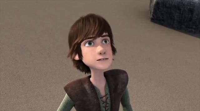 Watch and share Hiccup Dodging Scauldron GIFs by AzureBeast on Gfycat