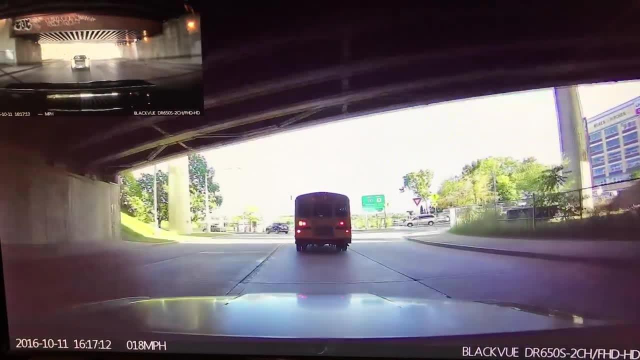 bmw, crash, wtf, Dashcam BMW crash GIFs