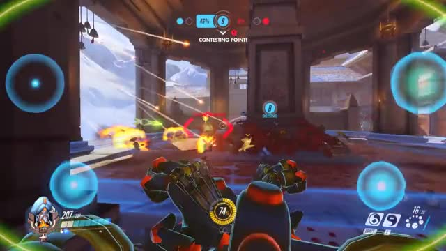Watch He shoots! And he scooores!!! GIF on Gfycat. Discover more overwatch, pcmasterrace GIFs on Gfycat