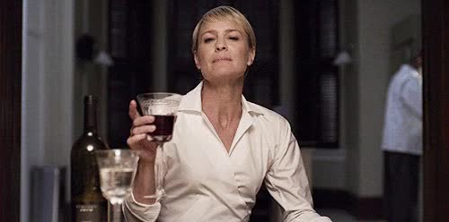 Watch and share Robin Wright GIFs and Wine GIFs on Gfycat