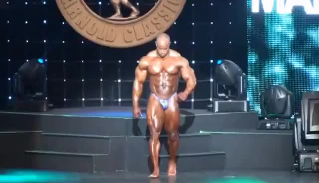 Watch and share Victor Martinez GIFs and Bodybuilder GIFs on Gfycat