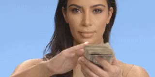 Watch and share Kim Kardashian GIFs and Dollar Bills GIFs by Streamlabs on Gfycat