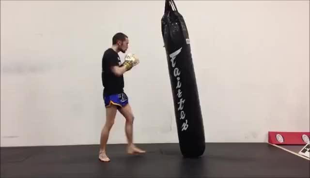 Watch Lead Hook GIF on Gfycat. Discover more Boxing, Kickboxing, MMA, Muay Thai GIFs on Gfycat