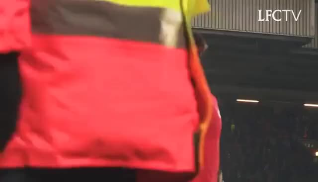 Watch Inside Anfield: Liverpool 4-1 Stoke City | TUNNEL CAM GIF on Gfycat. Discover more related GIFs on Gfycat