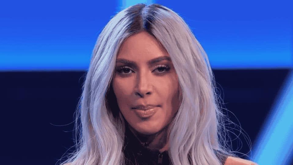 a, bad, bite, biting, did, dumb, family, feud, kardashian, kardashians, keeping, kim, kuwtk, oops, stupid, the, thing, tongue, up, with, Kim Kardashian - Oops GIFs