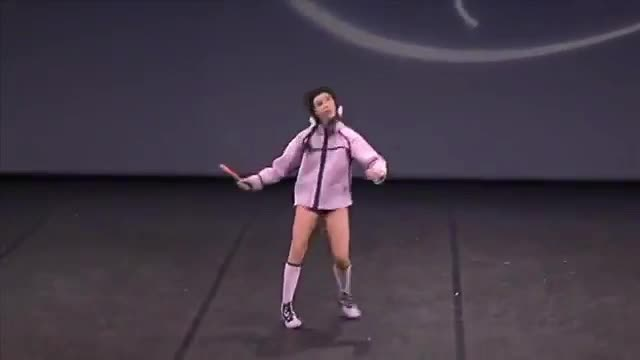 GIF Brewery, talented-girl-performs-a-weird-dance,  GIFs