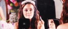 Watch and share Blair Waldorf GIFs on Gfycat