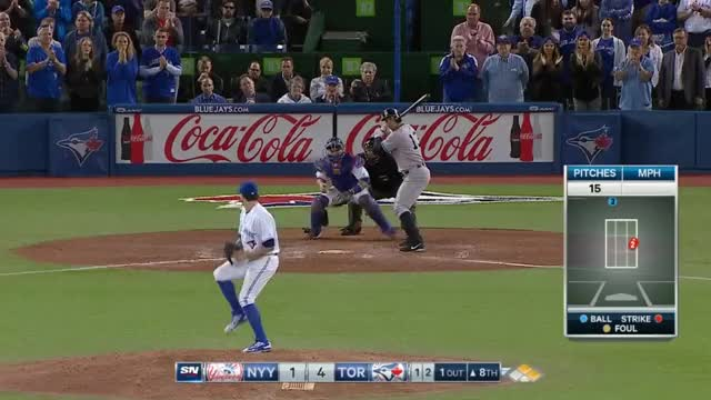 Watch and share Cecil Keeps Blue Jays Ahead GIFs on Gfycat