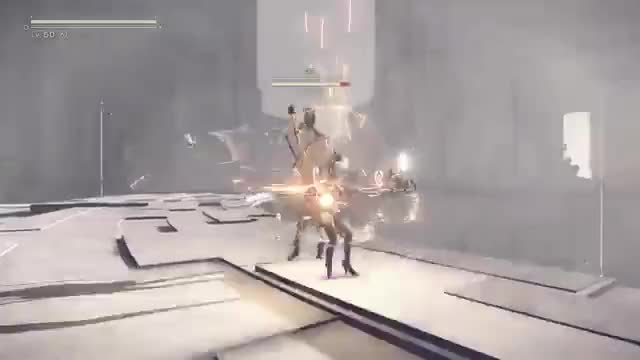 Watch and share Nier Boss Battle GIFs and Boss Fight GIFs on Gfycat