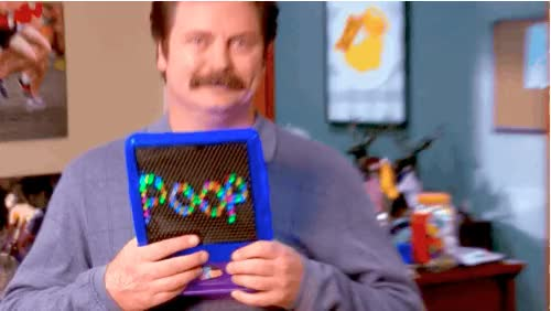 Watch and share Ron Swanson Poop GIFs on Gfycat