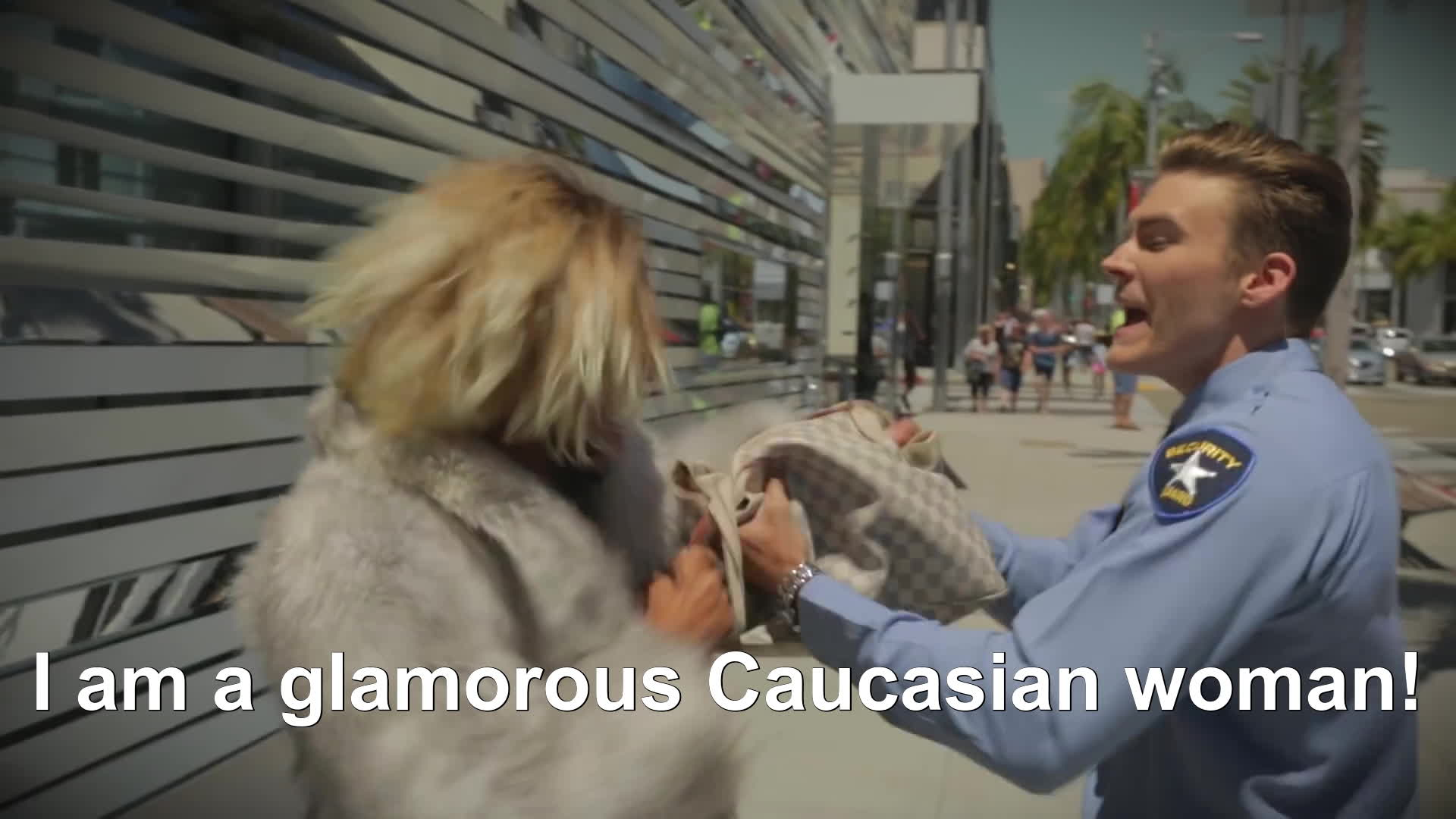 caucasian, diva, dramatic, fighting, glamorous, joanne the scammer, outrage, shoplifting, theft, злая, злой, Joanne The Scammer Scams Beverly Hills GIFs