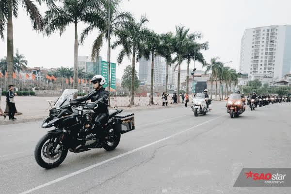 MC Anh Tuấn cùng bạn bè diễu hành mô tô tưởng nhớ người anh em Trần Lập ảnh 16