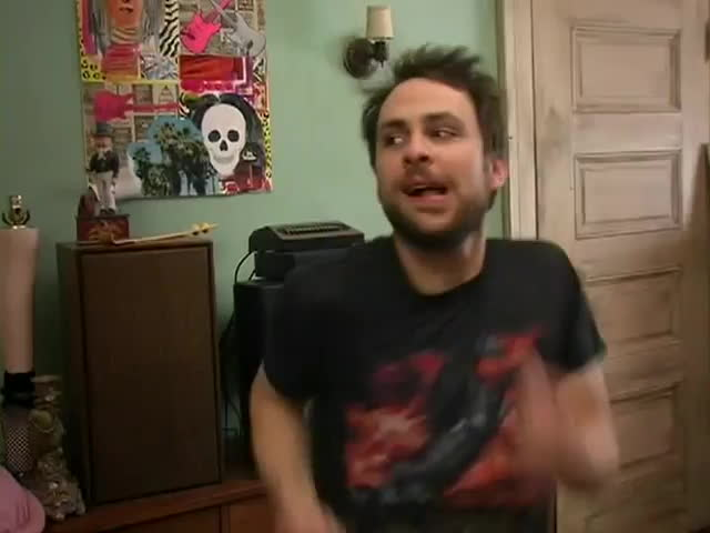always sunny, always sunny in philadelphia, charlie day, comedy (film genre), iasip, it's always sunny in philadelphia (tv program), its always sunny in philadelphia, It's Always Sunny in Philadelphia - Charlie is ready for a chair GIFs
