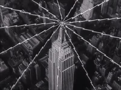 Watch this new york GIF by Marc Rodriguez (@marcrodriguez) on Gfycat. Discover more 1950s, black and white, broadcast, city, kinoscope, marc rodriguez, movie, new york city, nyc, radio, signal, transmission, tv, usa, vintage GIFs on Gfycat