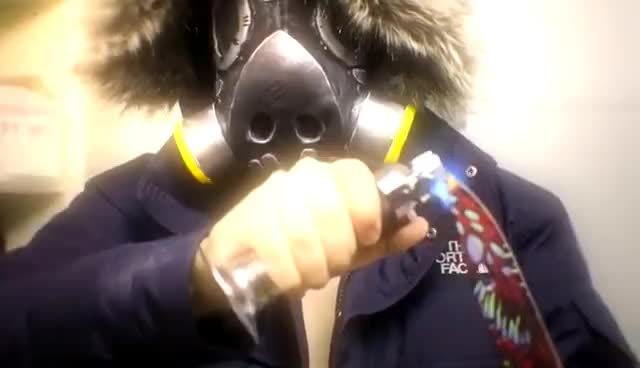 EXPERIMENT Glowing 1000 degree KNIFE VS HUMAN ARM *BLOOD WARNING* GIFs