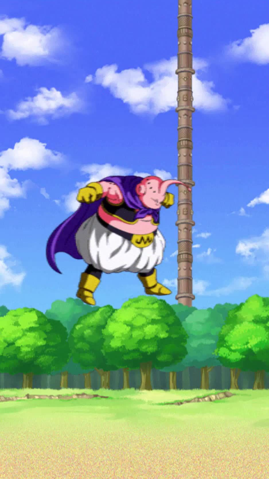 DBZDokkanBattle, Dokkan Battle, dbzdokkanbattle, Buu (Good) Special Attack GIFs