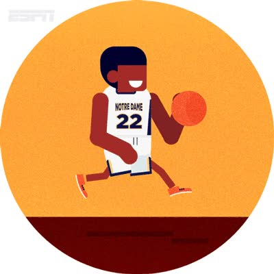Watch and share Emanuele Colombo Folio Illustration ESPN Sport Digital Vector GIFs on Gfycat