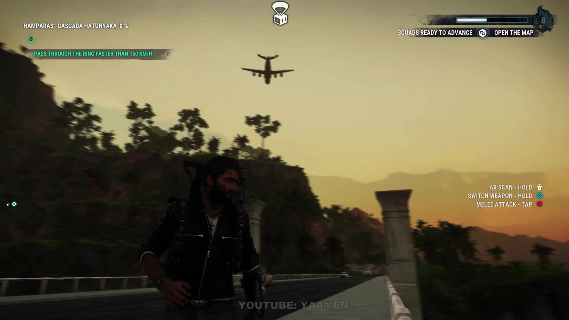 bug, glitch, helicopter, just cause 4, square enix, JUST CAUSE 4 - PUSH TO START GIFs