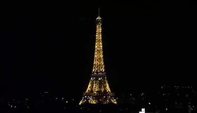 Watch and share Eiffel Tower At Night Flashing Lights GIFs on Gfycat