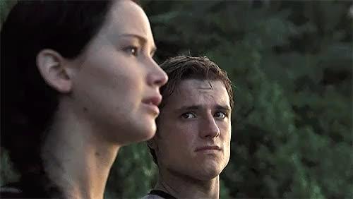 Watch and share Katniss Everdeen GIFs and Josh Hutcherson GIFs on Gfycat