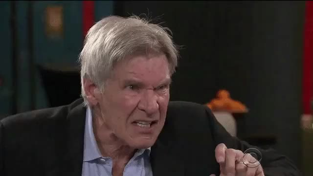 Watch and share Furious Harrison Ford : Gifs GIFs on Gfycat