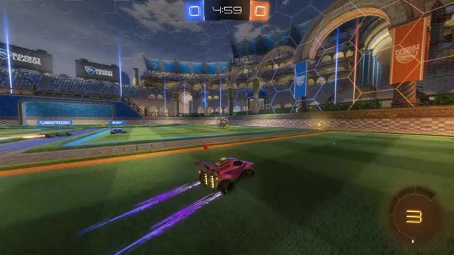 Watch Goal 1: brainless banana GIF by Gif Your Game (@gifyourgame) on Gfycat. Discover more Gif Your Game, GifYourGame, Goal, Rocket League, RocketLeague, brainless banana GIFs on Gfycat