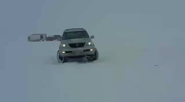 Watch She loves the snow. GIF by @nychao23 on Gfycat. Discover more 4x4, snow, donuts GIFs on Gfycat