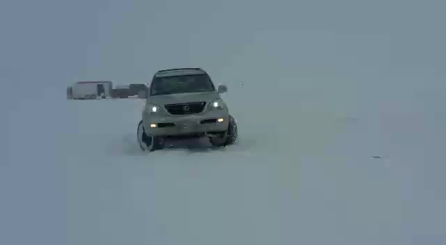 4x4, snow, donuts , She loves the snow. GIFs