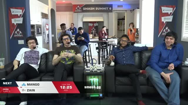 Mang0 vs Zain - Melee Singles: Quarterfinals - Smash Summit 6
