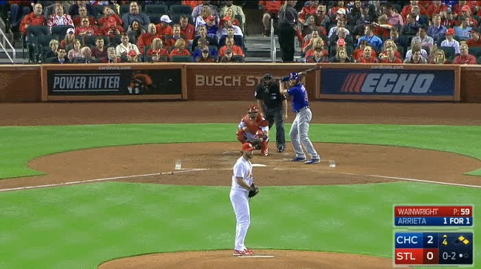 BetterEveryLoop, MLBTheShow, baseball, bettereveryloop, cardinals, chicago cubs, cubs, mlbtheshow, st louis cardinals, smusial - uh adam GIFs