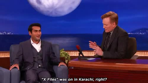 Watch and share Kumail Nanjiani GIFs and Conan O Brien GIFs on Gfycat