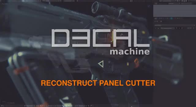 Watch DECALmachine - Reconstruct Panel Cutter GIF on Gfycat. Discover more 3D, Blender, CGI, Surface, b3d, cutter, cycles, decal, design, detail, hard, machine, panel, reconstruct GIFs on Gfycat