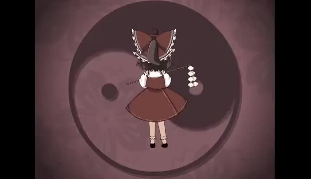 Watch and share Reimu GIFs and Miko GIFs on Gfycat