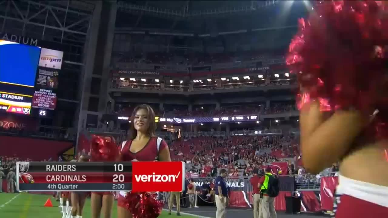 football, nfl, Arizona Cardinals cheerleaders GIFs