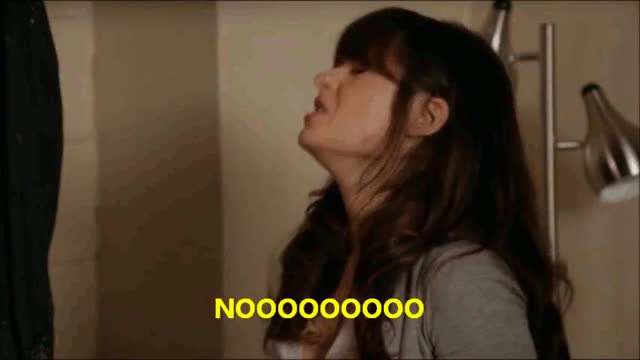 Watch zooey deschanel no  GIF on Gfycat. Discover more related GIFs on Gfycat