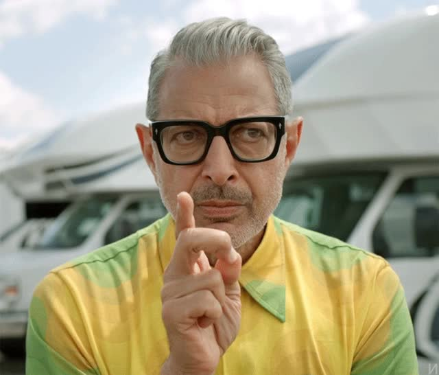 Watch and share Jeff Goldblum Confused GIFs by Ricky Bobby on Gfycat
