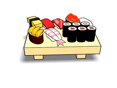 Watch and share Sushi GIFs on Gfycat